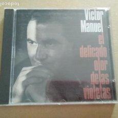 CDs de Música: CD - VÍCTOR MANUEL - EL DELICADO OLOR DE LAS VIOLETAS. Lote 212959056
