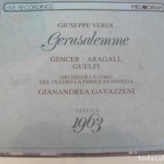 CD de Música: GERUSALEMME / GIANANDREA / 2 CDS + LIBRETTO. Lote 213012182