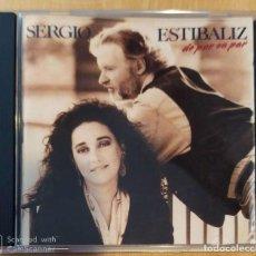 CDs de Música: SERGIO Y ESTIBALIZ (DE PAR EN PAR) CD 1989. Lote 213023415