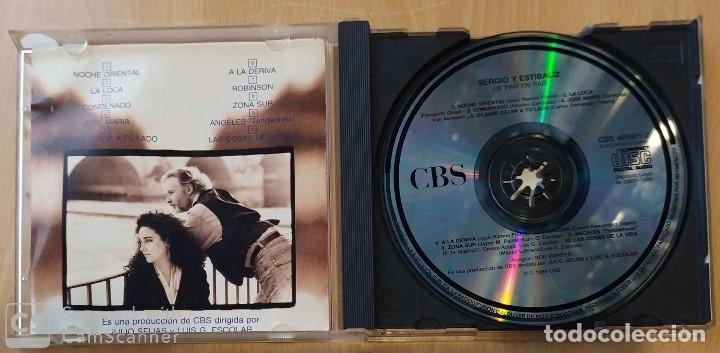 CDs de Música: SERGIO Y ESTIBALIZ (DE PAR EN PAR) CD 1989 - Foto 3 - 213023415