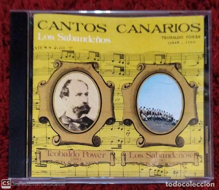 LOS SABANDEÑOS (CANTOS CANARIOS) CD 1999 (Música - CD's Melódica )