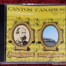 CDs de Música: LOS SABANDEÑOS (CANTOS CANARIOS) CD 1999. Lote 213023717