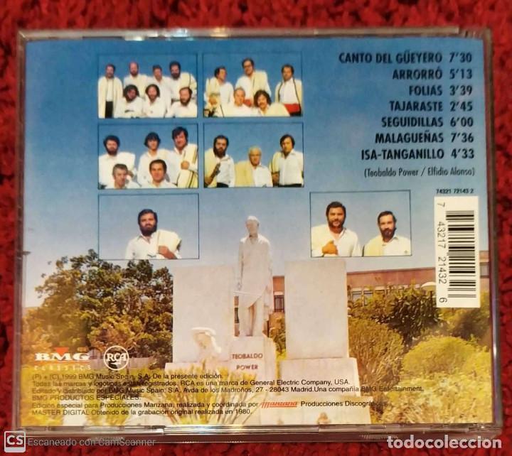 CDs de Música: LOS SABANDEÑOS (CANTOS CANARIOS) CD 1999 - Foto 2 - 213023717