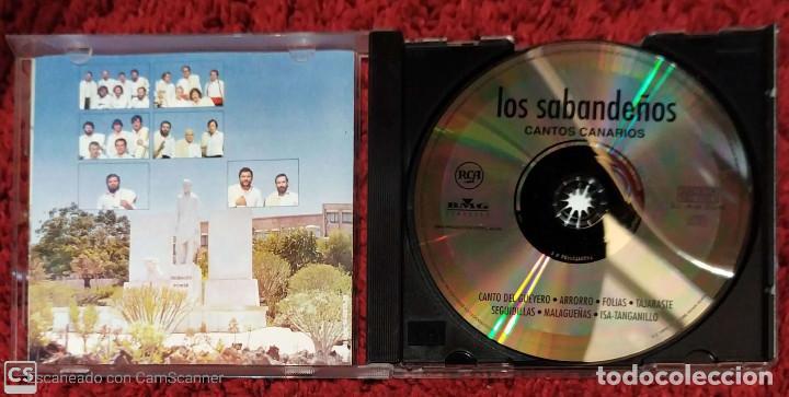 CDs de Música: LOS SABANDEÑOS (CANTOS CANARIOS) CD 1999 - Foto 3 - 213023717
