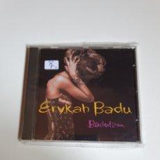CDs de Música: ERYKAH BADU – BADUIZM, ELECTRONIC, HIP HOP, FUNK / SOUL, TEMAS EN LA DESCRIPCIÓN.. Lote 213072195