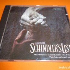 CDs de Música: SCHINDLER´S LIST / LA LISTA DE SCHINDLER / ORIGINAL SOUNDTRACK / BANDA SONORA / JOHN WILLIAMS / CD. Lote 213075752