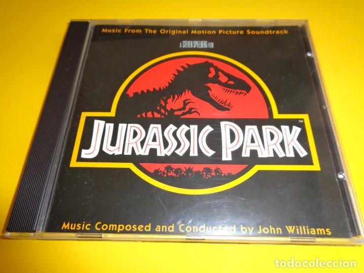 JURASSIC PARK / PARQUE JURASICO / ORIGINAL SOUNDTRACK / BANDA SONORA / BSO / JOHN WILLIAMS / CD (Música - CD's Bandas Sonoras)
