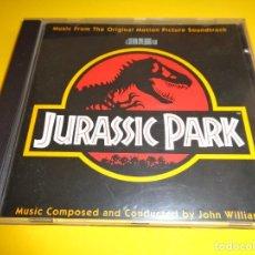 CDs de Música: JURASSIC PARK / PARQUE JURASICO / ORIGINAL SOUNDTRACK / BANDA SONORA / BSO / JOHN WILLIAMS / CD. Lote 213076826