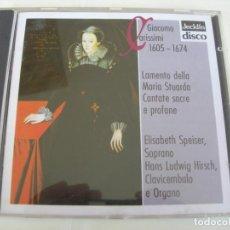 CD de Música: LAMENTO DELLA MARIA STUARDA CANTATE SACRE E PROFANE / CD. Lote 213084080
