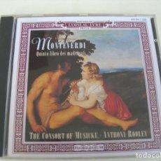 CD de Música: QUINTO LIBRO DEI MADRIGALI / ANTHONY ROOLEY CD. Lote 213085785