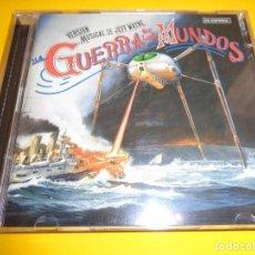 CDs de Música: LA GUERRA DE LOS MUNDOS / VERSIÓN MUSICAL DE JEFF WAYNE / EN ESPAÑOL / SONY MUSIC / 2 CD. Lote 213099267