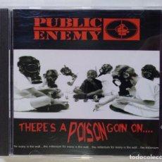 CDs de Música: PUBLIC ENEMY - THERE'S A POISON GOIN ON [ USA RAP / HIP HOP ] [[ ORIGINAL CD ]] [[1999]]. Lote 213104901