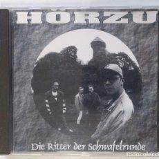 CDs de Música: HÖRZU - DIE RITTER DER SCHWAFELRUNDE [GERMANY HIP HOP / RAP] [PRIMERA EDICIÓN ORIGINAL CD] [[1995]]. Lote 213107272