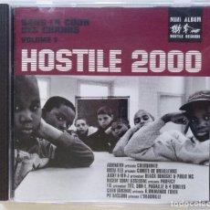 CDs de Música: HOSTILE 2000 VOL.1 - DANS LA COUR DES [FRANCIA HIP HOP / RAP] [ EDICIÓN ORIGINAL CD ] [[1999]]. Lote 213110556