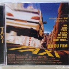 CDs de Música: TAXI B.S.O. DU FILM (REALISEE PAR IAM) [FRANCIA HIP HOP / RAP] [ EDICIÓN ORIGINAL CD ] [[1998]]. Lote 213111692