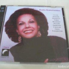 CD de Música: RAINA KABAIVANSKA / 2 CDS. Lote 213154540
