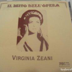 CD de Música: VIRGINIA ZEANI / IL MITO DELL´OPERA / CD. Lote 213155292