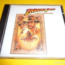CDs de Música: INDIANA JONES AND THE LAST CRUSADE / ORIGINAL SOUNDTRACK / INDIANA JONES Y LA ÚLTIMA CRUZADA / CD. Lote 213160803