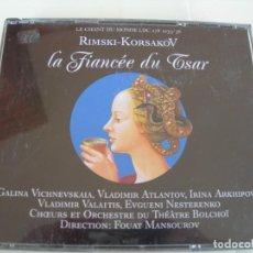 CD de Música: LA FIANCEE DU TSAR / FOUAT MANSOUROV / 2 CDS + LIBRETTO. Lote 213168297
