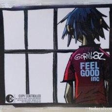 CDs de Música: GORILLAZ - FEEL GOOD INC [US EDITION HIP HOP / ELECTRONIC] [ EDICIÓN ORIGINAL CD SINGLE ] [[2005]]. Lote 213179158