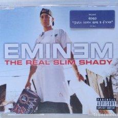 CDs de Música: EMINEM - THE REAL SLIM SHADY [US EDITION HIP HOP / RAP] [ EDICIÓN ORIGINAL CD SINGLE ] [2000]. Lote 213180076