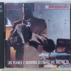 CDs de Música: LOS PLANES Y ARCHIVOS SECRETOS DEL DOCTOR YO [HIP HOP / FUNK / ELECTRONIC] [ ORIGINAL 2 CD ] [2000]]. Lote 213191072