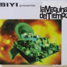 CDs de Música: BIYI - LA MÁQUINA DEL TIEMPO (LA PUTA OPP DJ) [HIP HOP / RAP] [ EDICIÓN DELUXE ORIGINAL CD ] [1998]. Lote 213192416