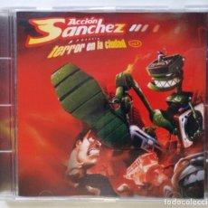 CDs de Música: ACCIÓN SANCHEZ - TERROR EN LA CIUDAD (SFDK DJ) [MIXTAPE / HIP HOP] [ EDICIÓN ORIGINAL CD ] [2004]. Lote 213194835