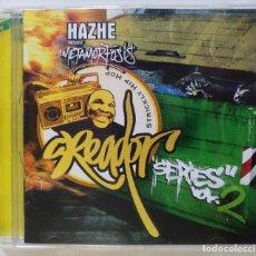 CDs de Música: HAZHE - METAMORFOSIS (CREADOR SERIES VOL. 2) [HIP HOP / RAP] SFDK [ EDICIÓN ORIGINAL CD ] [2004]. Lote 213195155