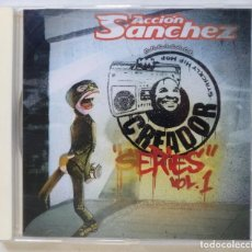 CDs de Música: ACCIÓN SANCHEZ - CREADOR SERIES VOL. 1 (SFDK DJ) [HIP HOP / RAP] [ EDICIÓN ORIGINAL CD ] [2004]. Lote 213195181