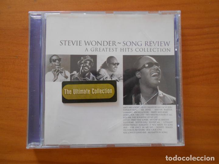 CD STEVIE WONDER - SONG REVIEW - A GREATEST HITS COLLECTION (EJ) (Música - CD's Jazz, Blues, Soul y Gospel)