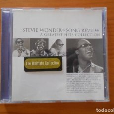 CD de Música: CD STEVIE WONDER - SONG REVIEW - A GREATEST HITS COLLECTION (EJ). Lote 213240616