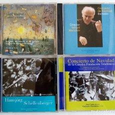 CDs de Música: LOTE DE 8 CDS DE LA ESCUELA SUPERIOR DE MÚSICA REINA SOFÍA. Lote 213242176