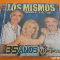 CDs de Música: LOS MISMOS / TODOS SUS ÉXITOS / GRANDES ÉXITOS / LO MEJOR DE / 35 AÑOS CON LA MÚSICA / 2 CD. Lote 213247371