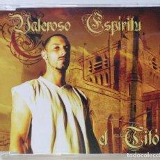 CDs de Música: EL TITÓ - VALEROSO ESPÍRITU [ EXCLUSIVO HIP HOP / RAP] FALSALARMA [ ORIGINAL CD SINGLE ] [2004]. Lote 213254118