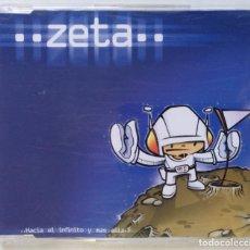 CDs de Música: ZETA - HACIA EL INFINITO Y MAS ALLA [ EXCLUSIVO DJ HIP HOP / ELECTRO] [ ORIGINAL CD SINGLE ] [1999]. Lote 213255232