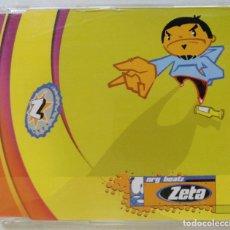 CDs de Música: ZETA - NRG BEATZ [ EXCLUSIVO FRANK T DJ HIP HOP / ELECTRO] [ ORIGINAL CD SINGLE ] [1998]. Lote 213255617