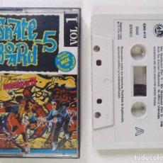 CDs de Música: SKATE BOARD 5 - VOL. 1 [DJ MIXTAPE ELECTRO / BREAKDANCE] [ORIGINAL CINTA CASSETTE] BARCELONA [1993]. Lote 213266086