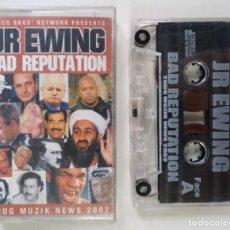 CDs de Música: JR EWING - BAD REPUTATION [FRANCIA DJ MIXTAPE HIP HOP / RAP] [ORIGINAL CINTA CASSETTE] [2002]. Lote 213266360