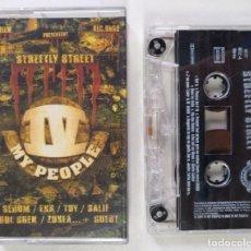 CDs de Música: IV MY PEOPLE - STREETLY STREET [FRANCIA DJ MIXTAPE HIP HOP / RAP] [ORIGINAL CINTA CASSETTE] [2001]. Lote 213267238