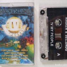 CDs de Música: IV MY PEOPLE - MADIZM & SEC.UNDO [FRANCIA DJ MIXTAPE HIP HOP / RAP] [ORIGINAL CINTA CASSETTE] [2000]. Lote 213267577