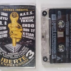 CDs de Música: LIBERTÉ D'EXPRESSION 3 [FRANCIA DJ MIXTAPE HIP HOP / RAP] [ORIGINAL CINTA CASSETTE] [2002]. Lote 213267976