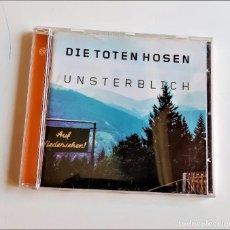 CDs de Música: CD DIE TOTEN HOSEN UNSTERBLICH. Lote 213278996