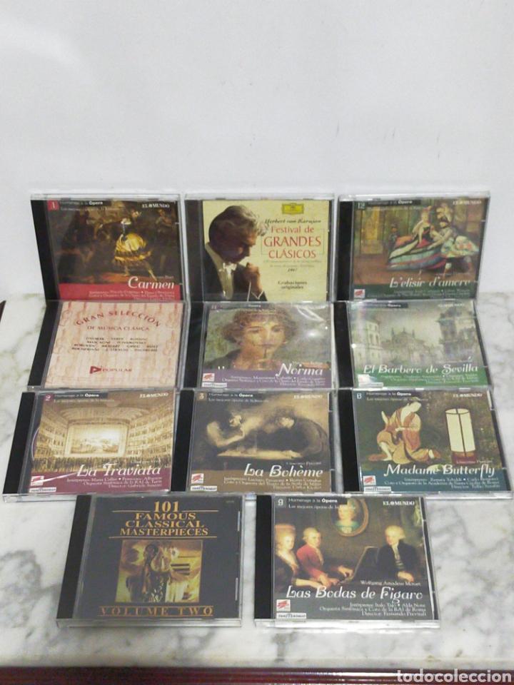 LOTE CDS MUSICA CLÁSICA (Música - CD's Clásica, Ópera, Zarzuela y Marchas)