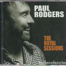 CDs de Música: CD + DVD PAUL RODGERS-THE ROYAL SESSIONS.PIE RECORDS.2014.. Lote 213284463