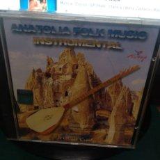 CDs de Música: ANATOLIA FOLK MÚSIC INSTRUMENTAL. Lote 213288165