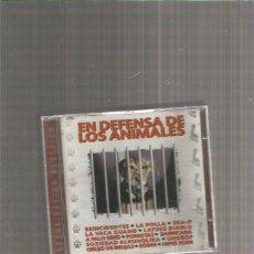 CDs de Música: EN DEFENSA DE LOS ANIMALES BARRICADA. Lote 213312800