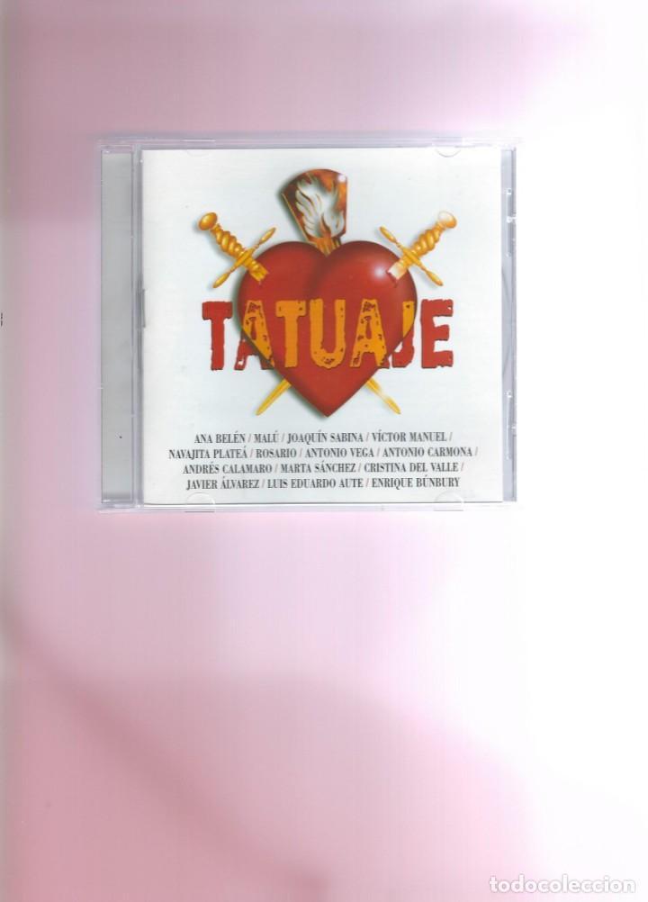 CD - TATUAJE - CANCIÓN ESPAÑOLA (Música - CD's Flamenco, Canción española y Cuplé)