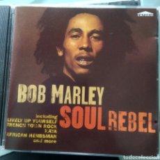 CDs de Música: BOB MARLEY – SOUL REBEL. Lote 213380885