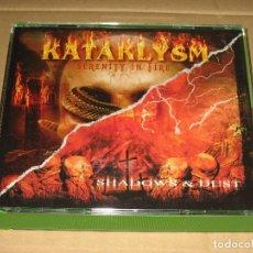 CDs de Música: (COMO NUEVO) KATAKLYSM - SERENITY IN FIRE / SHADOWS & DUST ___ (PACK 2CD). Lote 213385186